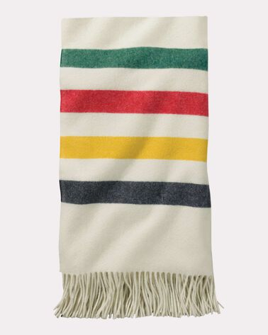 5TH AVENUE GLACIER PARK MERINO THROW, WHITE, large