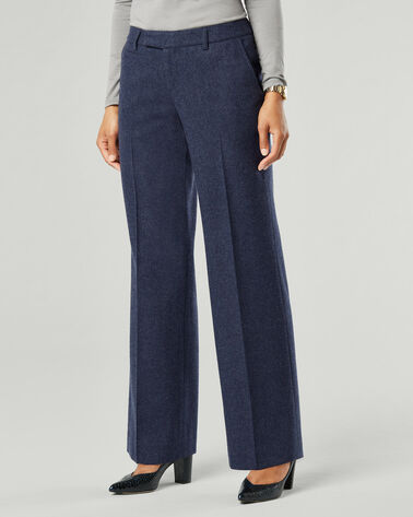 ALBERTA TROUSERS, NAVY MIX, large