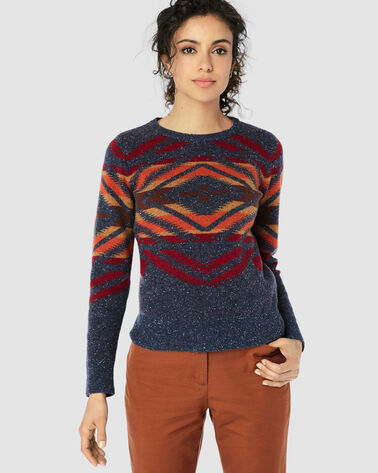 SUNSET CROSS PULLOVER