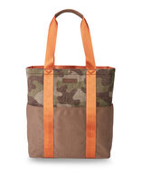 CAMO TOTE IN CAMO BROWN