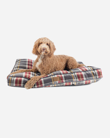 X-LARGE PLAID DOG BED IN BRESLIN PLAID