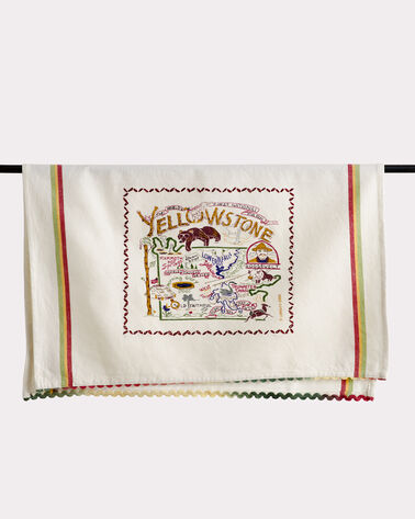 NATIONAL PARK EMBROIDERED DISH TOWELS