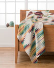 ADDITIONAL VIEW OF FALCON COVE WOVEN THROW IN TAN MULTI