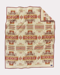 CHIEF JOSEPH BLANKET, WHEAT, large