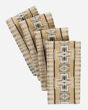 HARDING NAPKINS SET OF 4 IN TAN HARDING