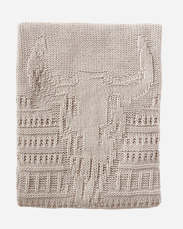BISON KNIT THROW