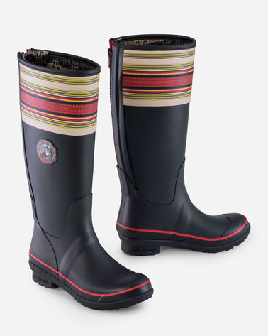 ALTERNATE VIEW OF NATIONAL PARK TALL RAIN BOOTS IN ACADIA BLACK
