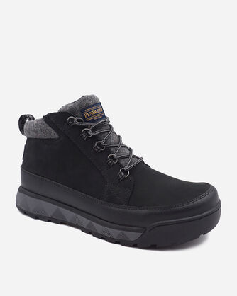ALTERNATE VIEW OF MEN'S KINSMAN TRAIL BOOTS IN BLACK