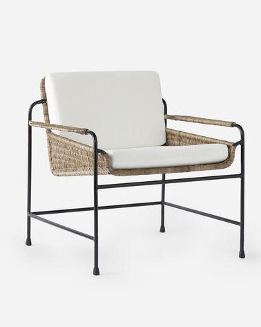 SEASIDE RATTAN CHAIR IN NATURAL
