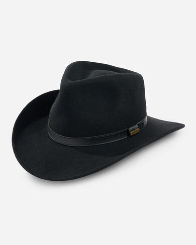 OUTBACK HAT IN BLACK