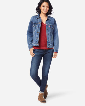 LEVI'S EX-BOYFRIEND TRUCKER JACKET, LIGHT BLUE, large