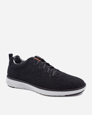 ALTERNATE VIEW OF MEN'S PENDLETON WOOL SNEAKERS IN CHARCOAL HEATHER