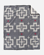SAN MIGUEL BLANKET IN BLACK HEATHER