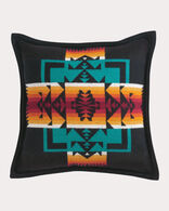 CHIEF JOSEPH PILLOW, BLACK, large