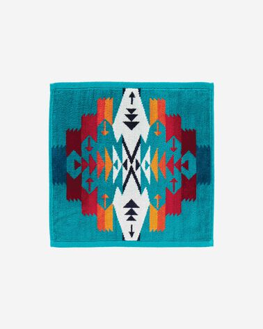 TUCSON WASHCLOTH, TURQUOISE, large