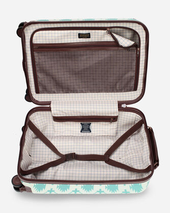 "ALTERNATE VIEW OF HARDING 20""  SPINNER LUGGAGE IN AQUA"