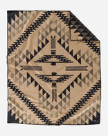 THUNDERBIRD MOUNTAIN BLANKET IN CAMEL