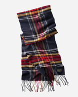 WHISPERWOOL MUFFLER IN COLLEGE PLAID