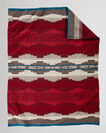 ALAMOSA KNIT THROW IN RED