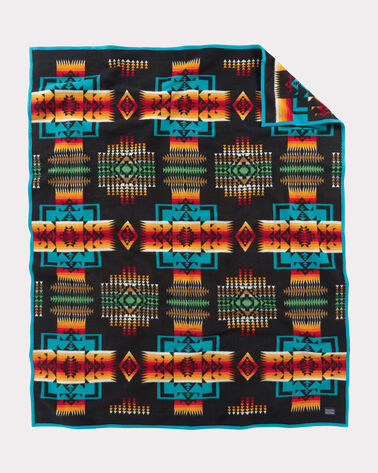 CHIEF JOSEPH BLANKET, BLACK, large
