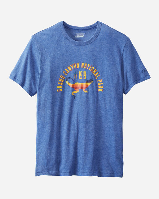 GRAND CANYON NATIONAL PARK TEE IN COBALT GRAND CANYON