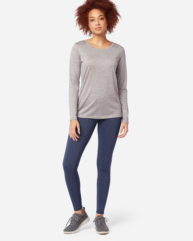 LEGGINGS IN NAVY HEATHER