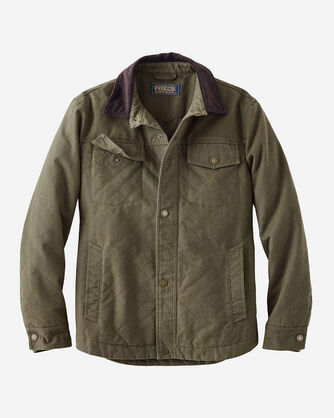 MEN'S BANNACK DIAMOND QUILTED JACKET IN OLIVE