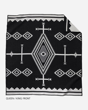 LOS OJOS BLANKET QUEEN AND KING SIZE FRONT VIEW