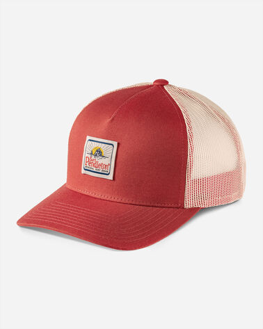 SURF TRUCKER HAT, RED RUST, large