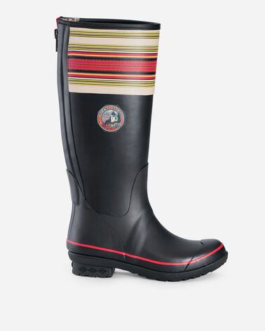 NATIONAL PARK TALL RAIN BOOTS IN ACADIA BLACK