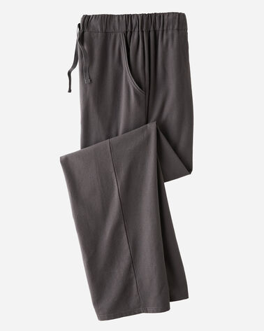 FLANNEL SLEEP PANTS, CHARCOAL HEATHER, large