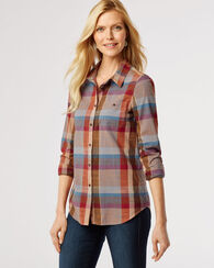 SUNSET CANYON PLAID SHIRT, SUNSET CANYON, large