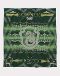 HARRY POTTER SLYTHERIN BLANKET, GREEN, large