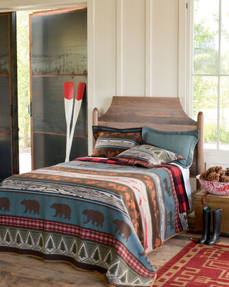 ADDITIONAL VIEW OF PINE LODGE SHAM IN BROWN
