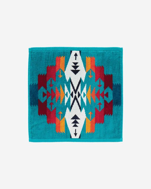TUCSON WASHCLOTH IN TURQUOISE