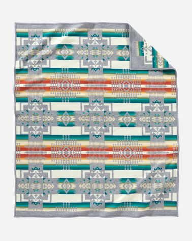 ADDITIONAL VIEW OF CHIEF JOSEPH BLANKET IN GREY
