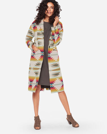 PACIFIC WOOL LONG JACKET