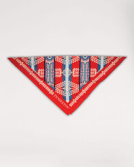 CANYONLANDS JUMBO BANDANA, RED, large