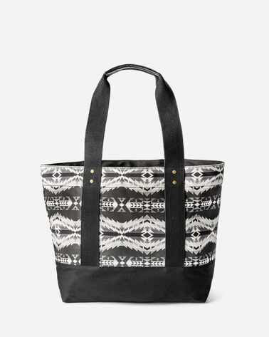 HAWKEYE CANOPY CANVAS TOTE, GREY/BLACK, large
