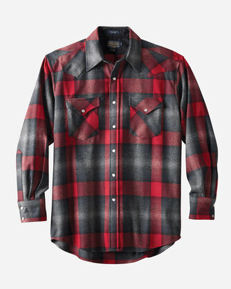 FITTED SNAP-FRONT CANYON SHIRT, , large