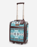 HARDING ROLLING UNDERSEAT CARRY-ON IN AQUA