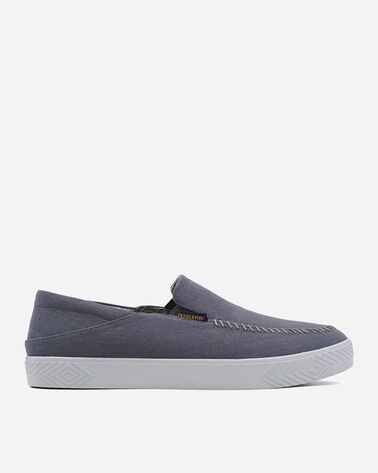 MEN'S POINT MUGU DROPHEEL SLIP-ONS IN STEEL GREY