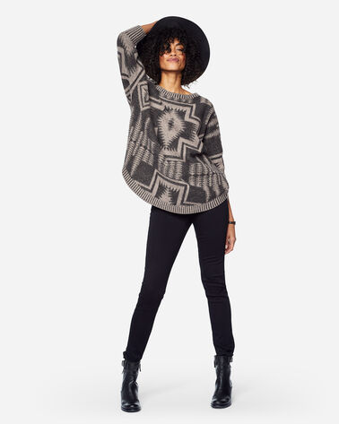 HARDING OVERSIZED PULLOVER, BLACK, large