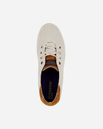 ALTERNATE VIEW OF MEN'S PINOLE BLUFF CANVAS SNEAKERS IN FEATHER