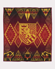 HARRY POTTER GRYFFINDOR BLANKET, RED/YELLOW, large
