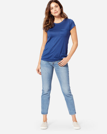 LEVI'S WEDGIE ICON JEANS IN DARK BLUE