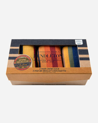 3-PACK NATIONAL PARK SOCKS GIFT BOX, YELLOWSTONE/GRAND/ROCKY, large