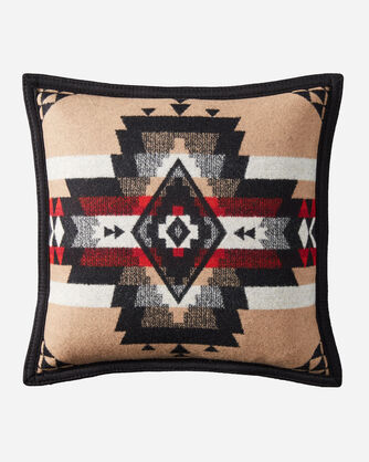ROCK POINT PILLOW IN BLACK