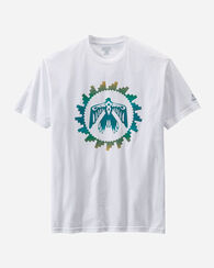 MEN'S HERITAGE TEE, WHITE THUNDERBIRD, large
