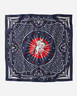 COWBOY BANDANA IN BLUE